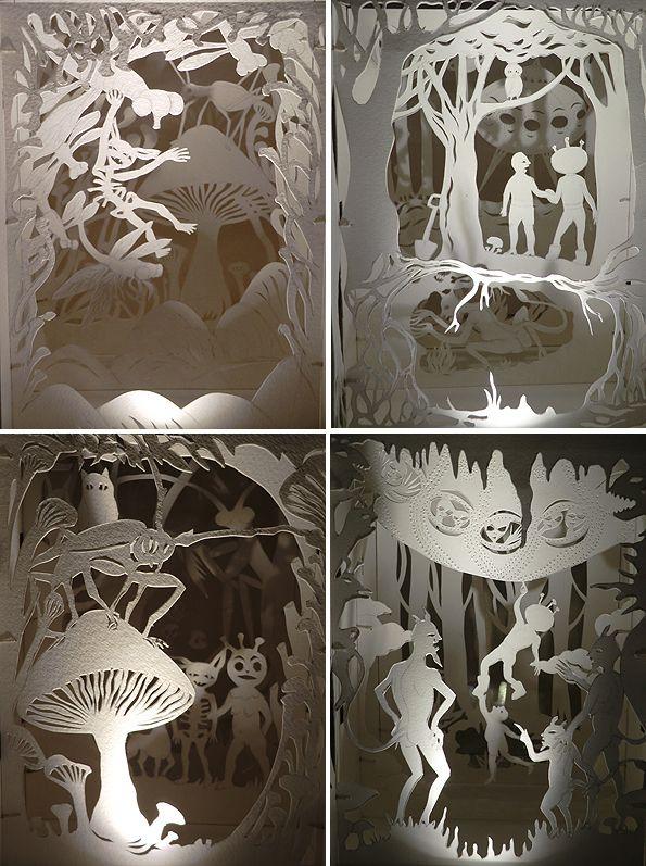 handcut paper art 22