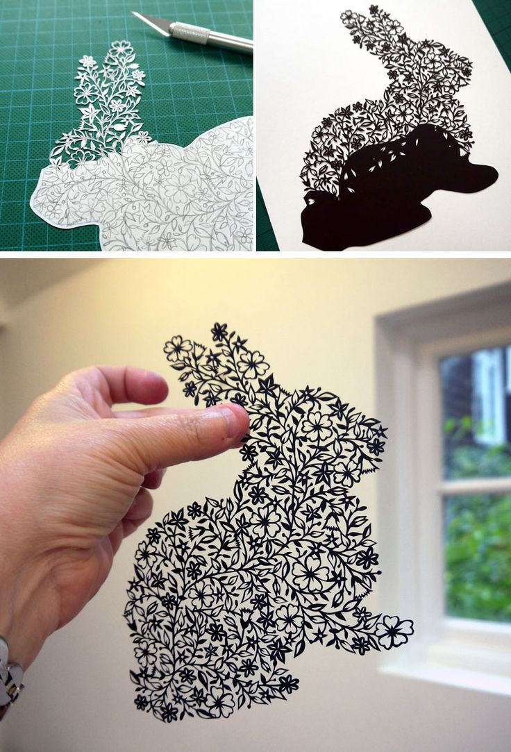 handcut paper art 8
