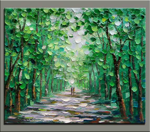 impasto paintings 21
