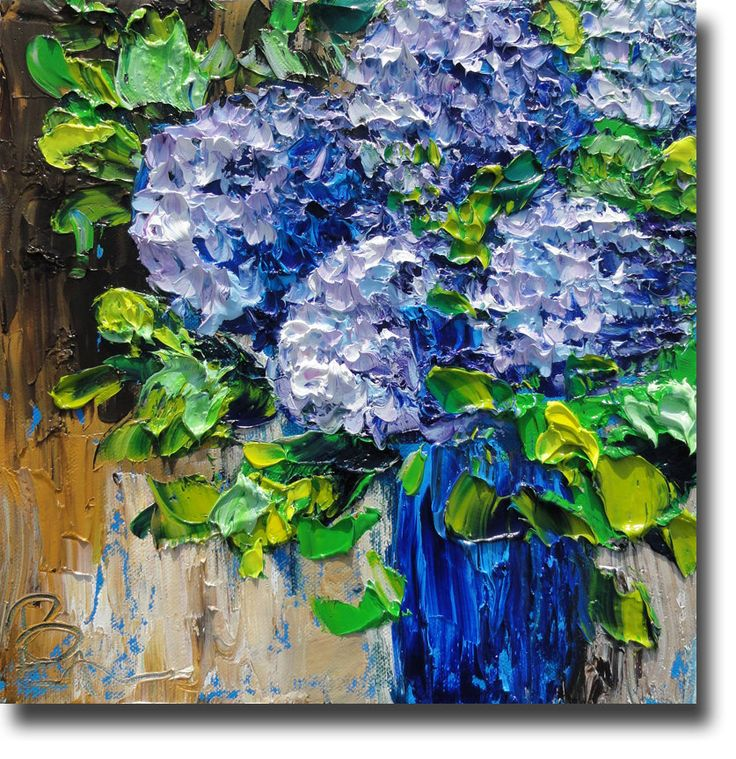 impasto paintings 27