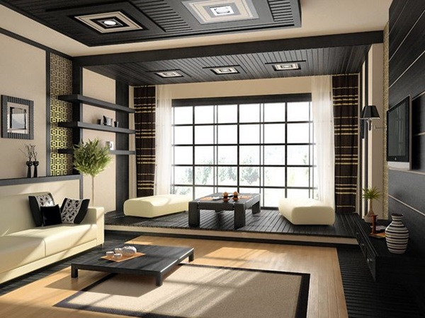 Chilling Japanese style interior Designs (23)