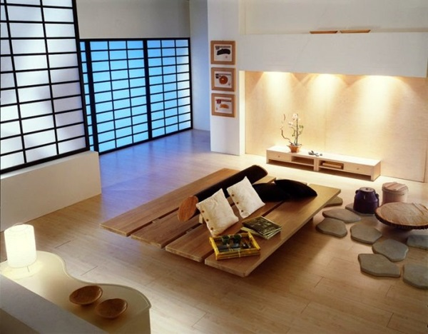 Chilling Japanese style interior Designs (40)