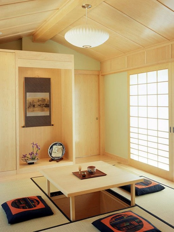 Chilling Japanese style interior Designs (49)