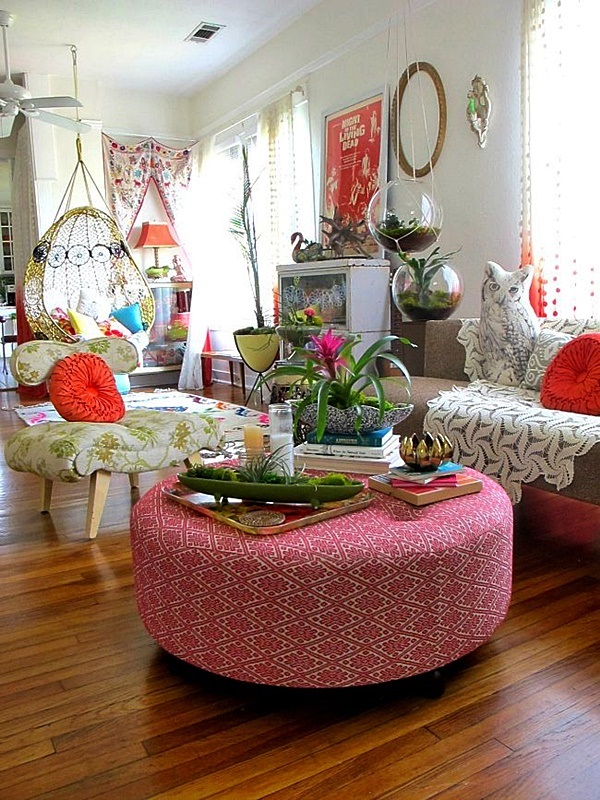 Magical Boho Home Decoration Ideas (36)