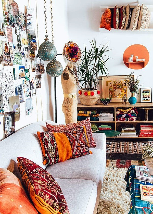 Magical Boho Home Decoration Ideas (4)