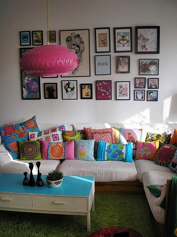 Magical Boho Home Decoration Ideas (42)