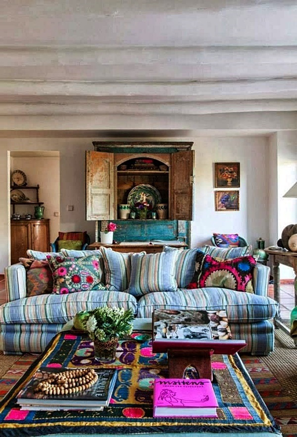 Magical Boho Home Decoration Ideas (9)