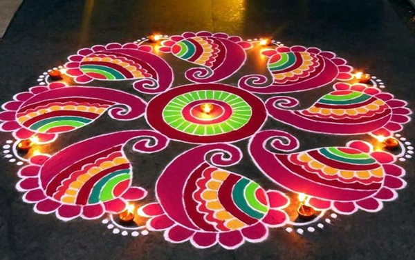 Rangoli Designs Like Never Seen Before (2)