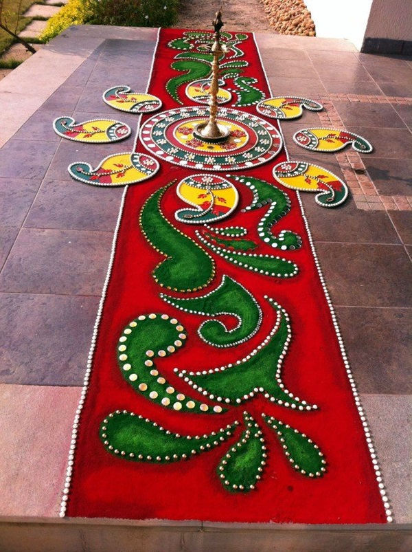 Rangoli Designs Like Never Seen Before (9)