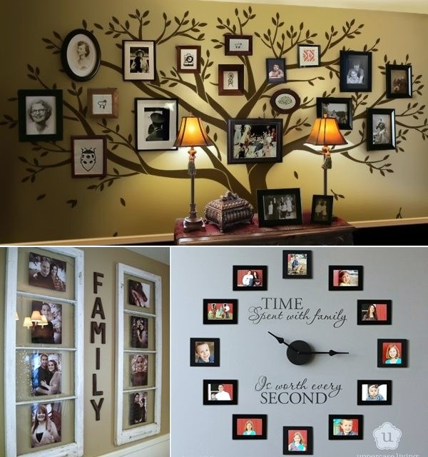 Unique wall photo display Ideas For You (2)