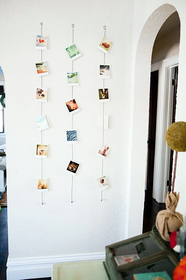 Unique wall photo display Ideas For You (29)