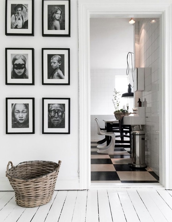 Unique wall photo display Ideas For You (4)