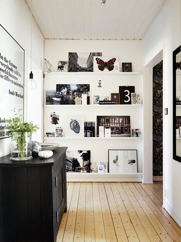 Unique wall photo display Ideas For You (40)