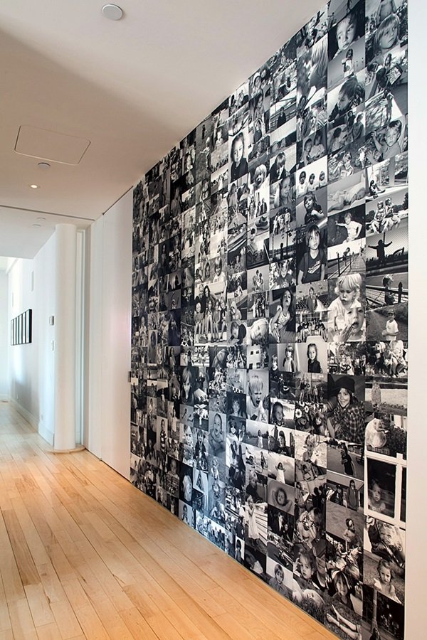 Unique wall photo display Ideas For You (41)