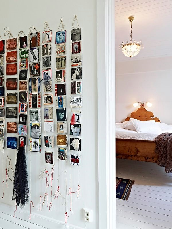 Unique wall photo display Ideas For You (43)
