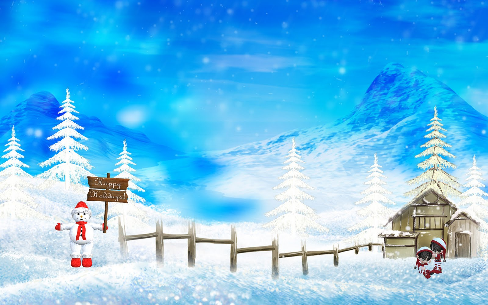 animated christmas wallpaper (13)