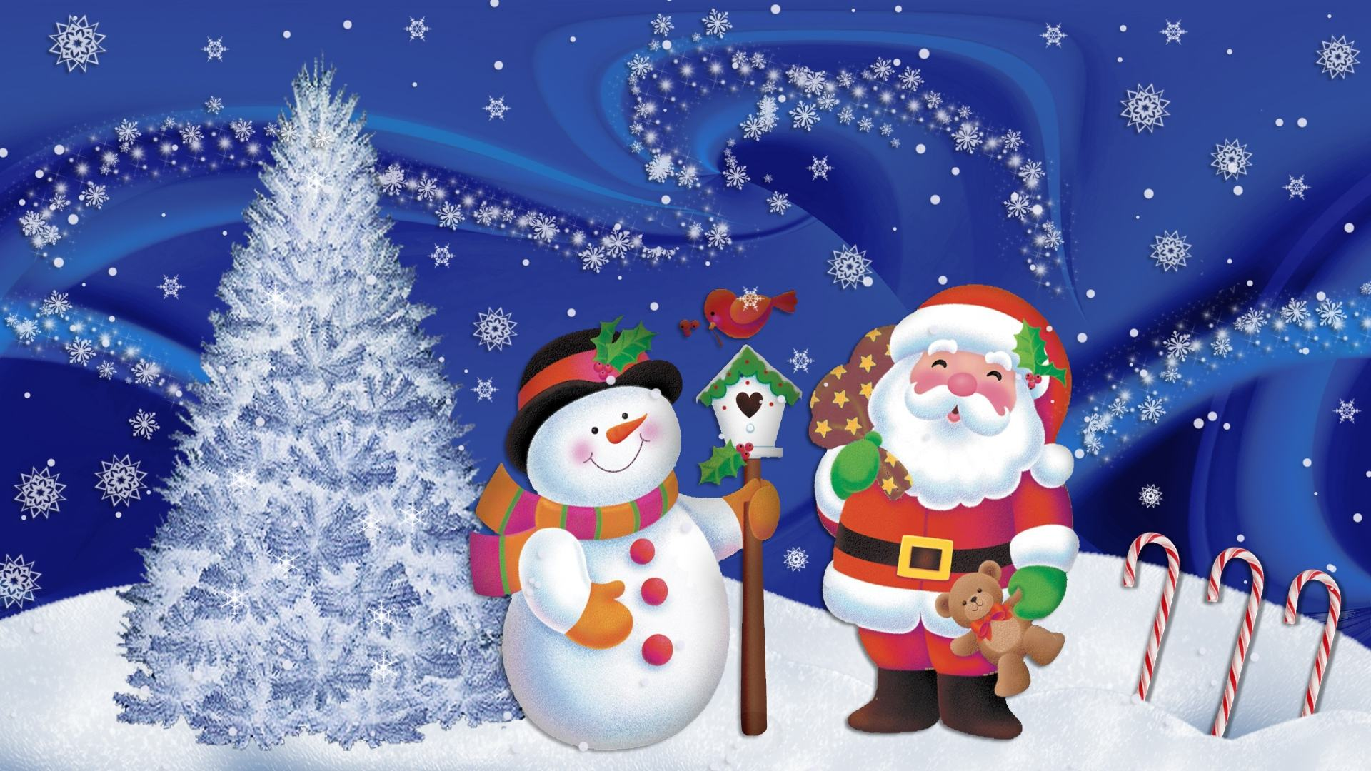 animated christmas wallpaper 24 - Pictures For Christmas