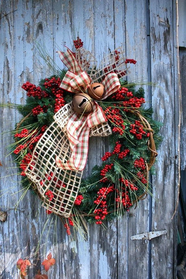 christmas wreath ideas (12)