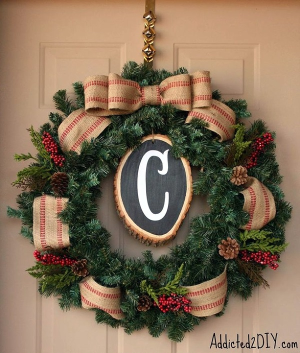 christmas wreath ideas (14)