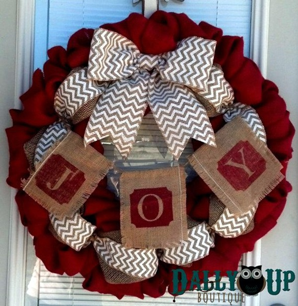 christmas wreath ideas (16)