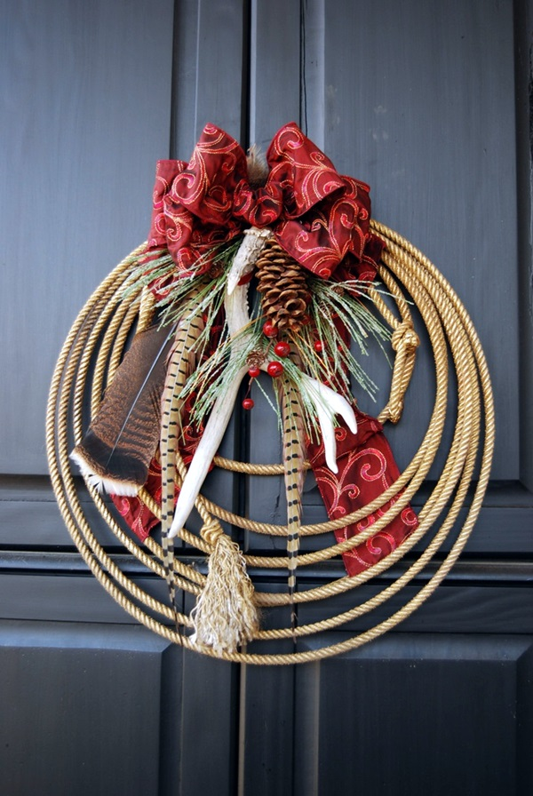 christmas wreath ideas (17)