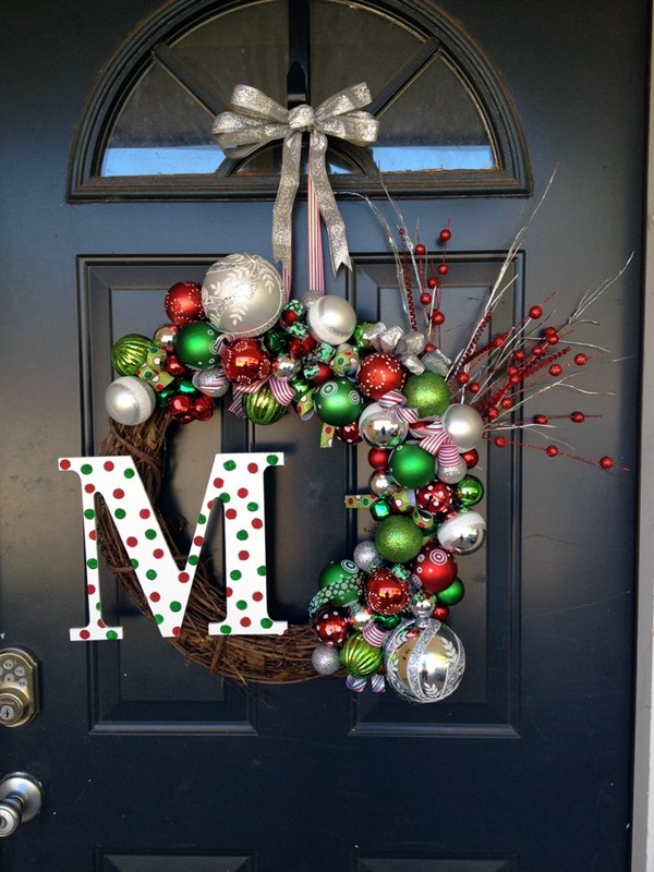 christmas wreath ideas (19)