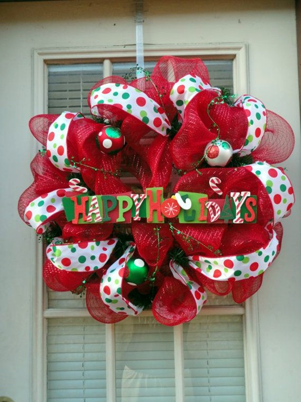 christmas wreath ideas (23)