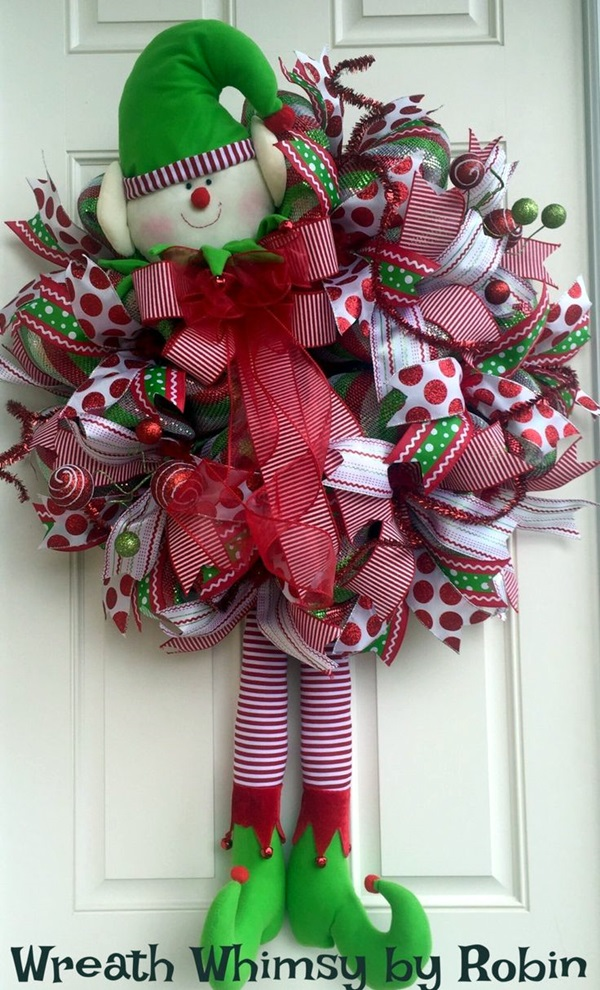 christmas wreath ideas (27)