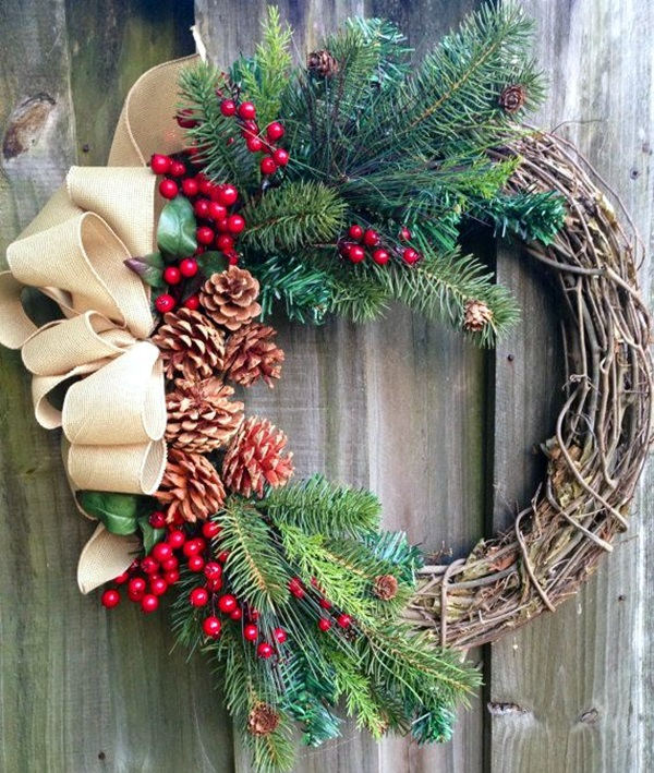 christmas wreath ideas (34)