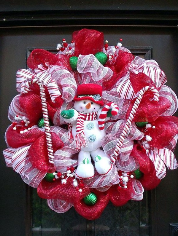 christmas wreath ideas (36)