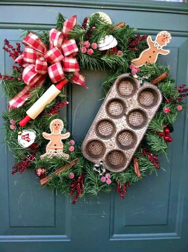 christmas wreath ideas (43)