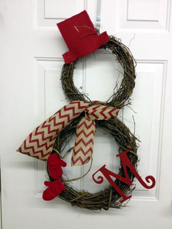 christmas wreath ideas (44)