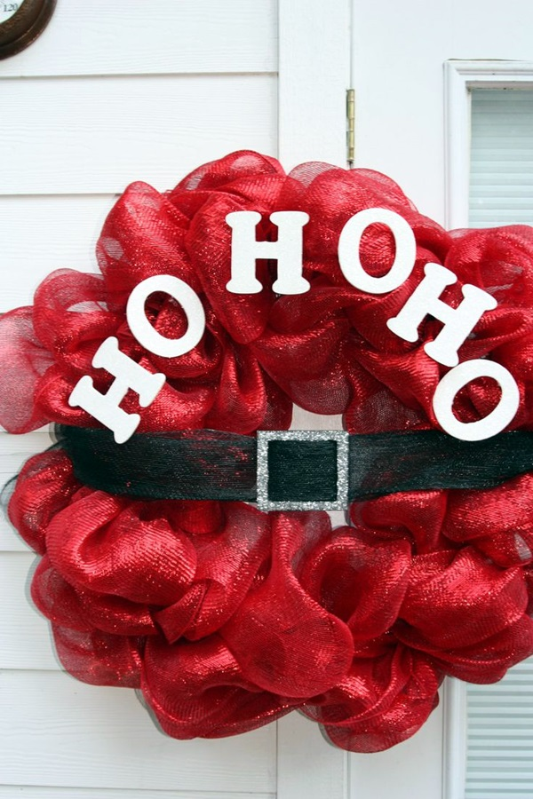 christmas wreath ideas (45)