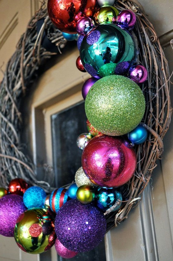 christmas wreath ideas (9)