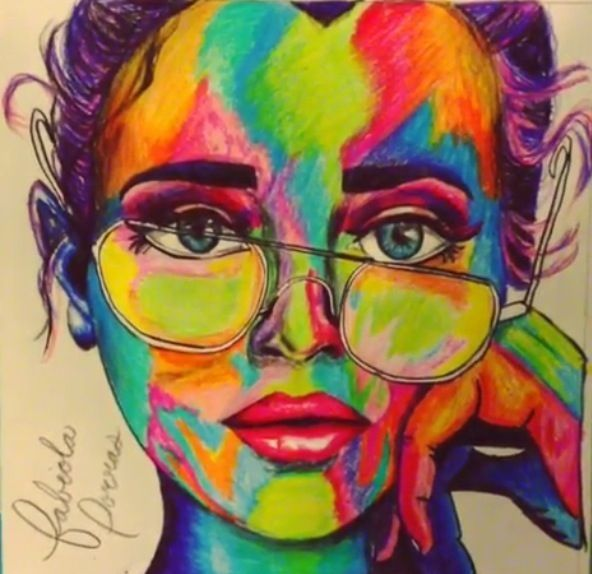 colored pencil art 25