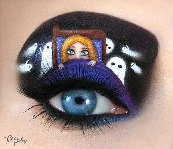 eye make up as art 21