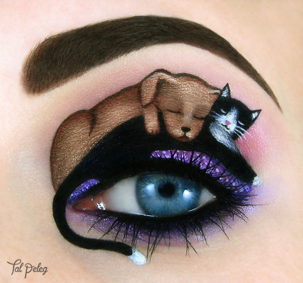 eye make up as art 24