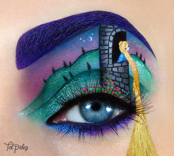 eye make up as art 25