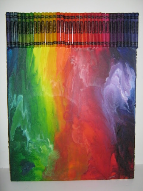 melted crayon art 25