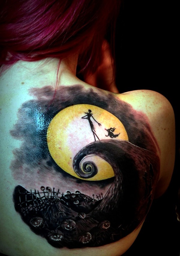 nightmare before christmas tattoos (12)