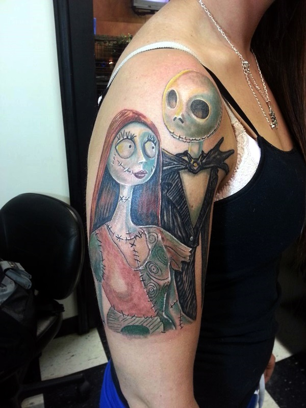 nightmare before christmas tattoos (20)