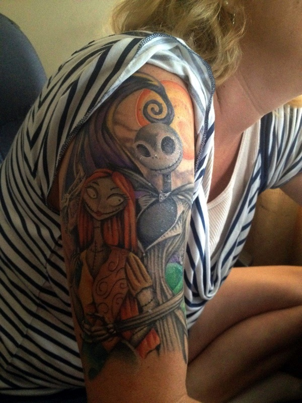 nightmare before christmas tattoos (24)