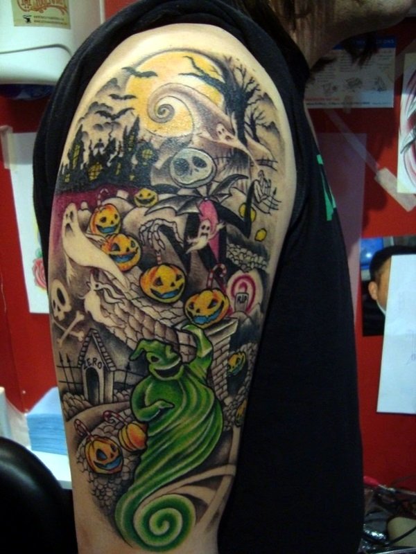 nightmare before christmas tattoos (33)