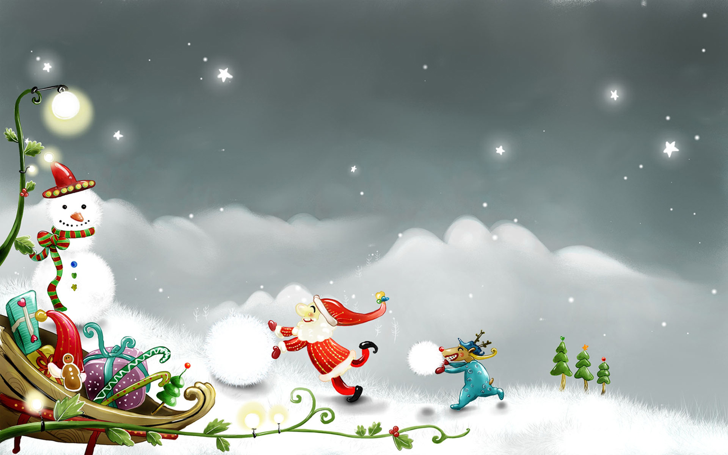 santa claus wallpaper (5)