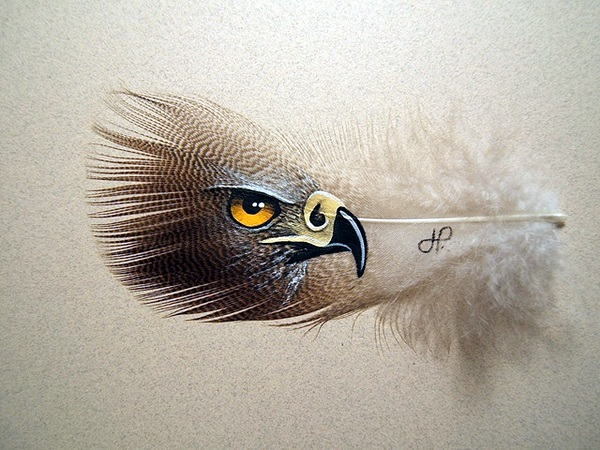 An Amazing Hobby of painted feathers (26)