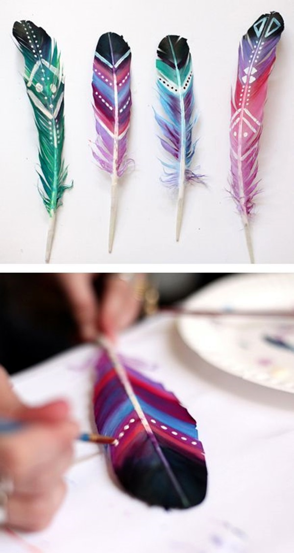An Amazing Hobby of painted feathers (32)