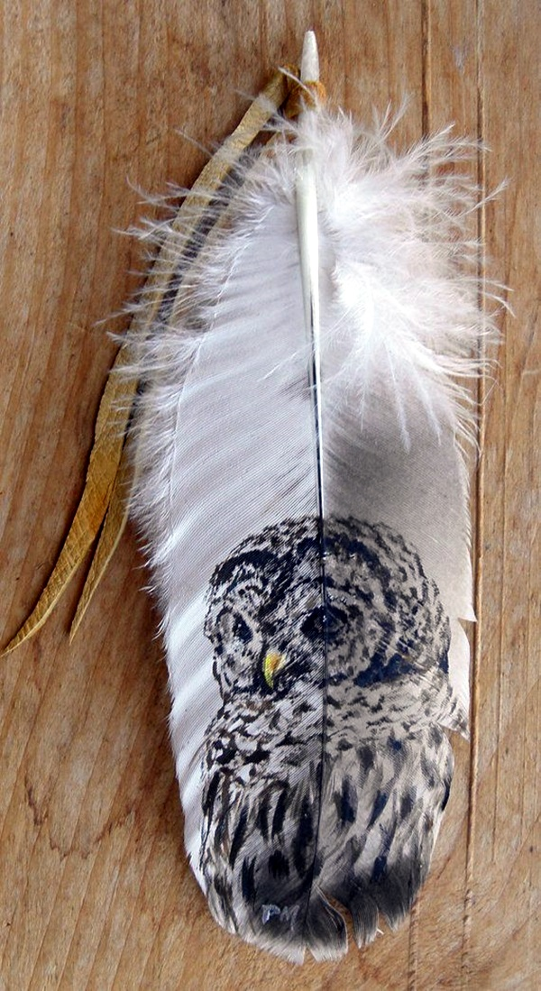 An Amazing Hobby of painted feathers (34)