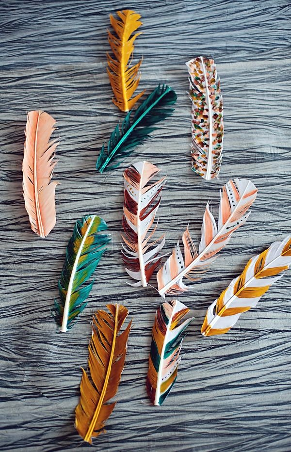 An Amazing Hobby of painted feathers (40)