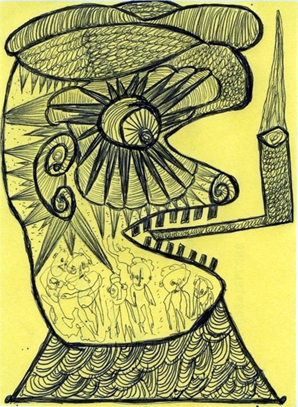 Beautiful Outsider art Examples (50)