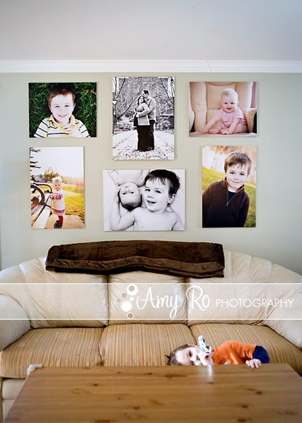 Best Family Picture Wall Decoration Ideas (36)